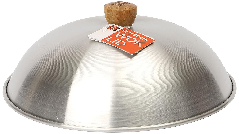 30,5/cm Tapa de Wok de Aluminio Escuela de Wok