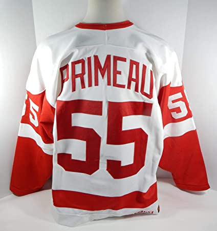 Image Unavailable. Image not available for. Color  1994-95 Detroit Red  Wings Keith Primeau  55 Game Used White Jersey ... 8f8c9cefb