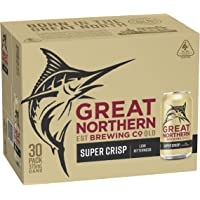 Great Northern Super Crisp Beer 30 x 375mL Cans