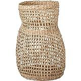 "Bloomingville Decorative 20"" Handwoven Natural Seagrass Vase Basket, Beige"