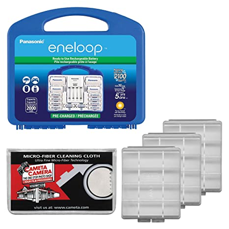 Amazon Panasonic Eneloop Power Pack Set With 8 AA 2 AAA