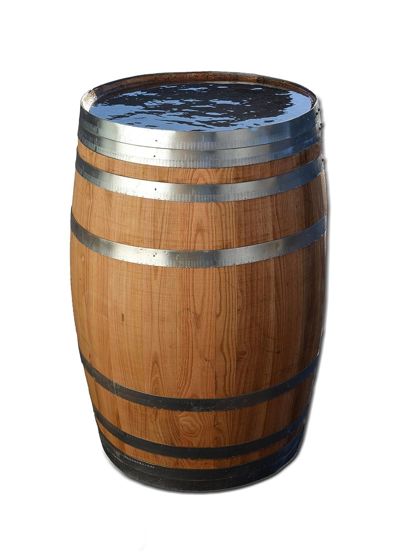 100 Liter Holzfass, Fass, Weinfass aus Kastanienholz (Fass geölt geöffnet)