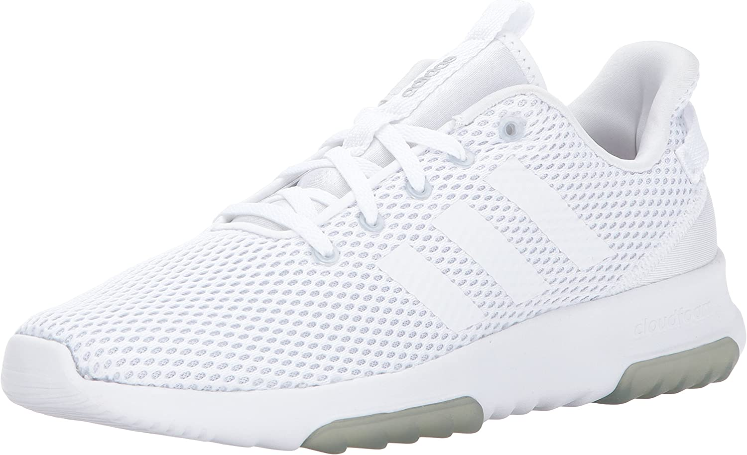 adidas NEO Women s Cf Racer Tr W Road-Running-Shoes,White White Matte Silver,11 Medium US