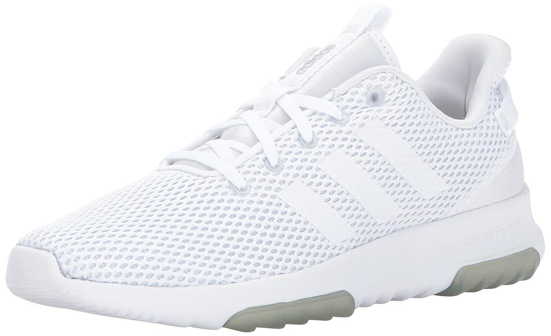 adidas Originals Women's Cf Racer Tr W Running Shoe B01N0080CY 8 B(M) US|White/White/Matte Silver