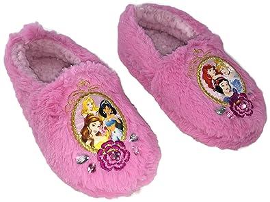 25812d3e6c2 Plush Disney Princess Slippers for Kids with Ariel
