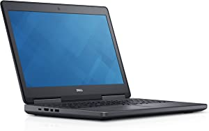 Dell Precision 7510 Mobile Workstation Laptop, Intel Core i7-6820HQ, 8GB DDR4, 500GB Hard Drive, Windows Pro 10 JHWYC