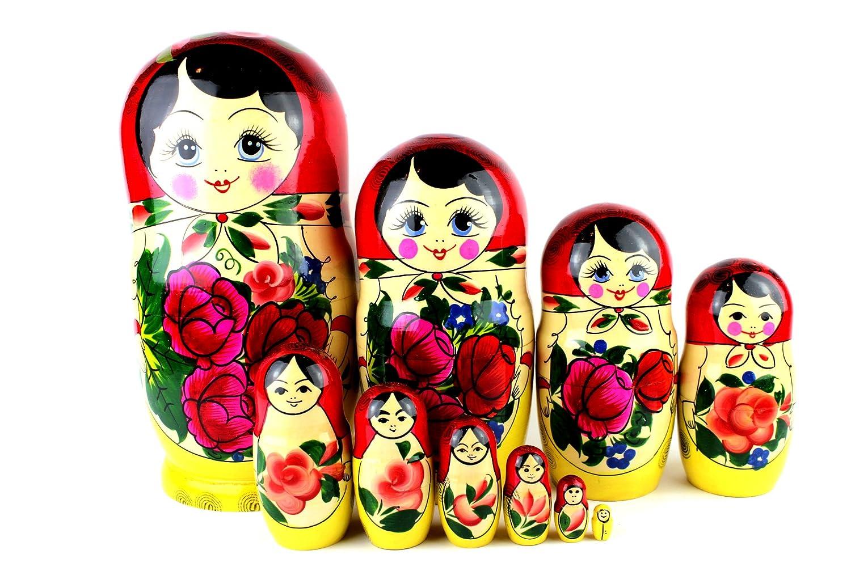 Matroschka Semönovskaja 10-tlg. 021 www.matroschka-shop.com