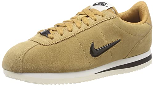 Mens Cortez Basic Se Low-Top Sneakers, Gold (Elemental Gold/Black-Sail 700), 6 UK Nike