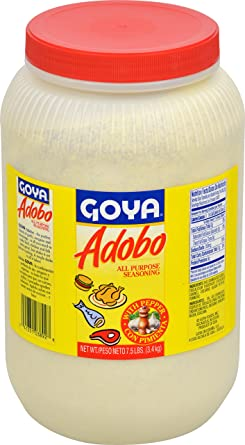 Amazon Com Goya Foods Adobo All Purpose Seasoning With Pepper 7 5 Pound Pack Of 4 Grocery Gourmet Food
