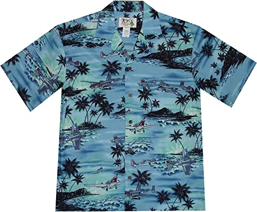 Diamond Head Hawaiian Aloha Shirt