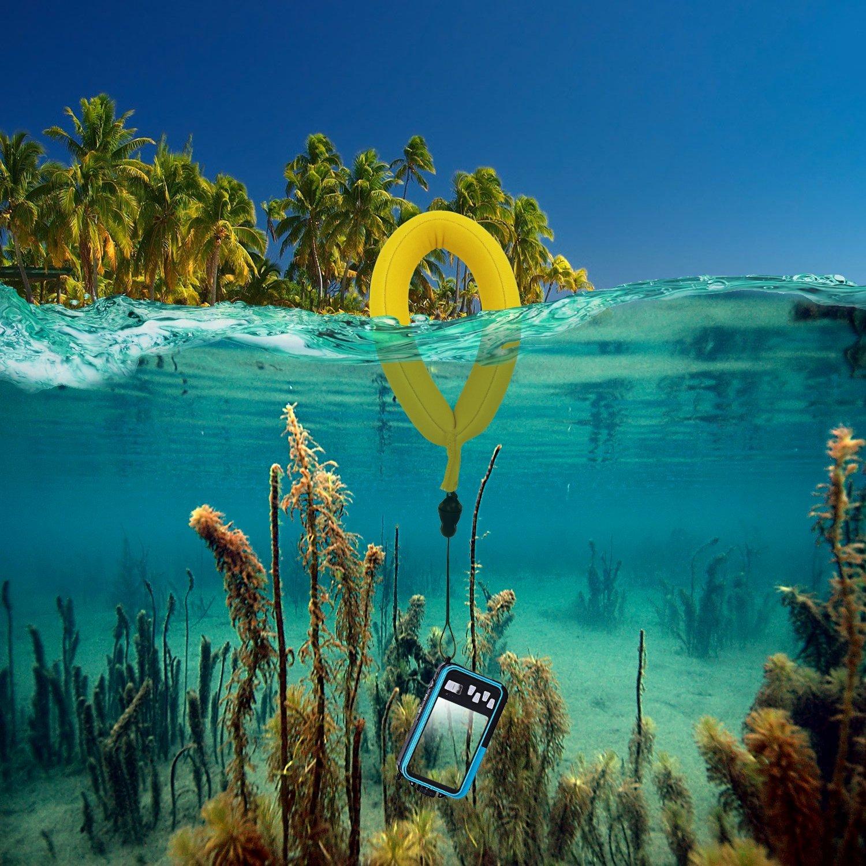 iGadgitz 1 Pack Neon Pink Waterproof Floating Wrist Strap suitable for use with Underwater//Waterproof: Cameras cases /& housing Video cameras Waterproof Sony phones Marine binoculars