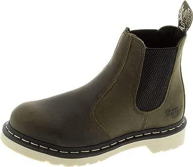 Dr. Martens, Women's Arbor Steel Toe Light Industry Boots