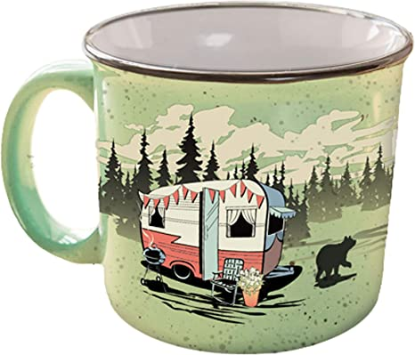 Amazon.com: Camp Casual Taza, muy verde: Automotive