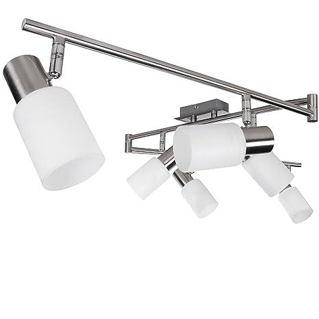 FineBuy . 6 llama luz de techo con lámpara LED (EEK: A +): ...
