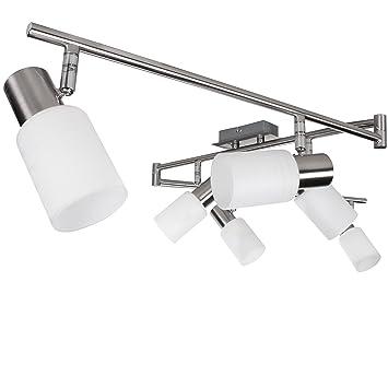 Luxus LED Decken Leuchten Wand Spot Hänge Lampen Wohnraum Strahler schwenkbar