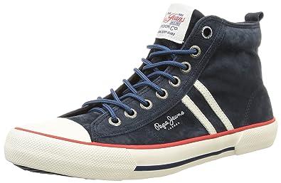 44 Eu Sneakers Homme 585marine Jeans Pepe Bleu Serthi Hautes T8aZUW0q