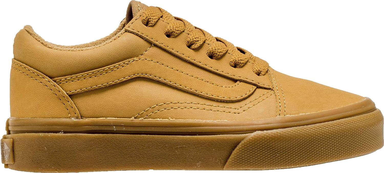 Chaussures Vans Y Old Skool Vansbuck Light Gum Mono