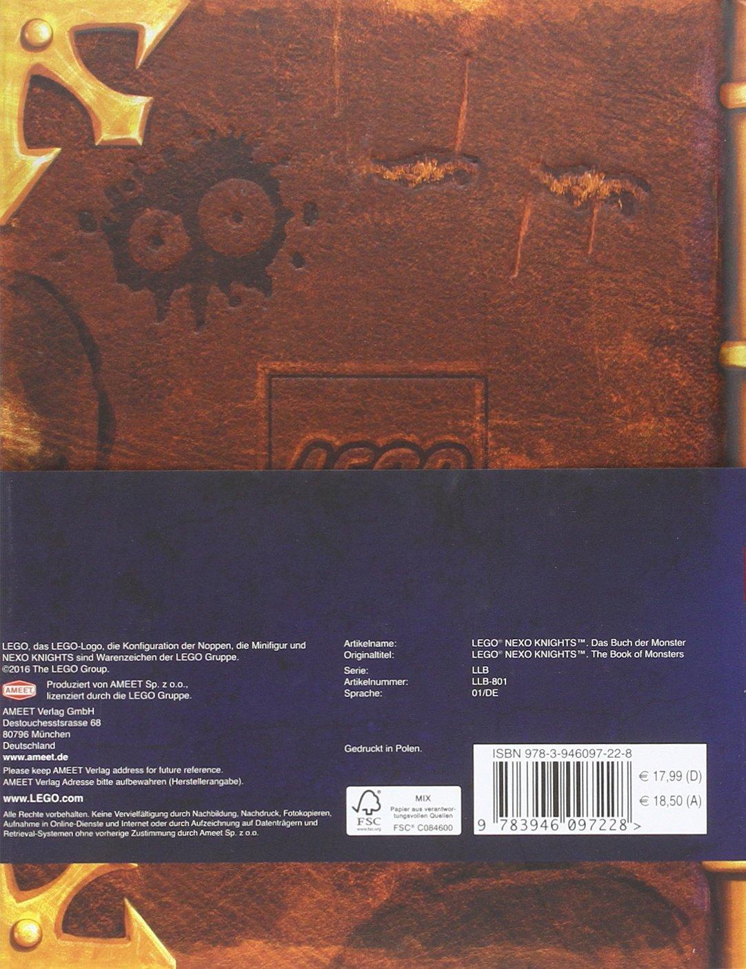 LEGO® Nexo Knights(TM) Das Buch der Monster: John Derevlany ...