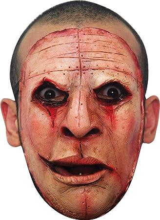 Máscara de asesino cara deformada