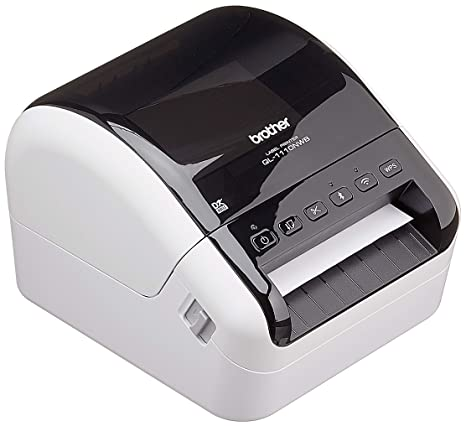 Brother QL-1110NWB Térmica Directa 300 x 300DPI - Impresora de Etiquetas (Térmica Directa, 300 x 300 dpi, 110 mm/s, 10,2 cm, 69 Ipm, 2,54 cm)