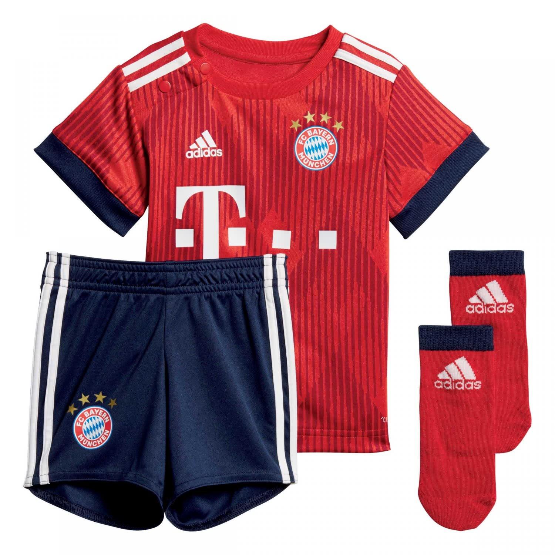 Adidas Unisex Baby 18 19 FC Bayern Home Babykit Mini-heimausrüstung