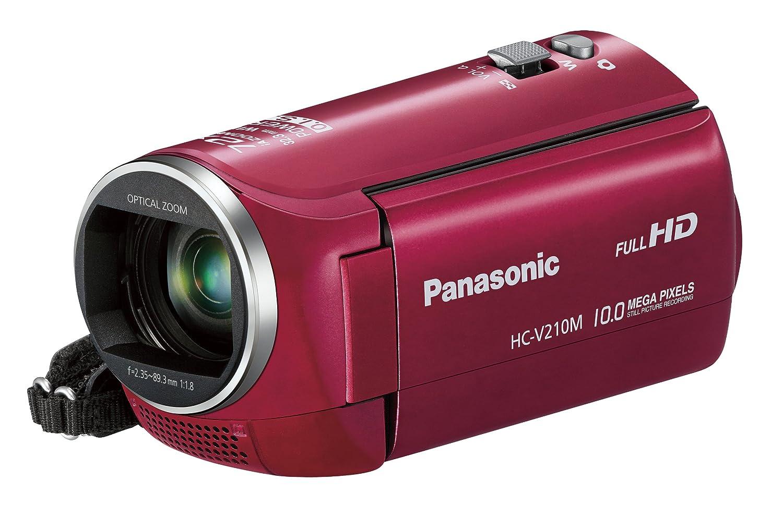 新着 パナソニック パナソニック デジタルハイビジョンビデオカメラ V210 内蔵メモリー8GB レッド HC-V210M-R レッド V210 内蔵メモリー8GB B00AZD4NJQ, カワベチョウ:d955a78e --- vanhavertotgracht.nl