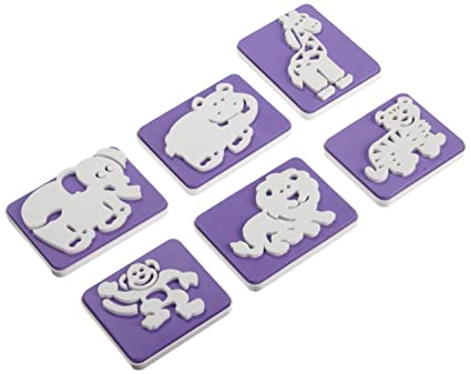 ce5e43d7e3 Buy Wilton 6-Piece Animals Stamp Set Online at Low Prices in India -  Amazon.in