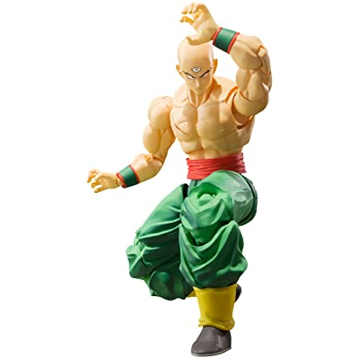 Bandai Tamashii Nations S.H. Figuarts Tien Shinhan Dragon Ball Z Action Figure: Toys & Games