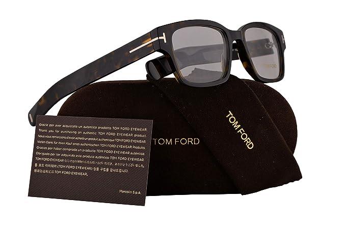 b8c1e8b3e7 Tom Ford FT5527 - Gafas de sol (50 - 18 - 145, havana oscura con ...
