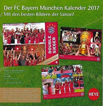 Calendario Bayern.Calendario 2017 Futbol Calendario Fc Bayern Munich Edition
