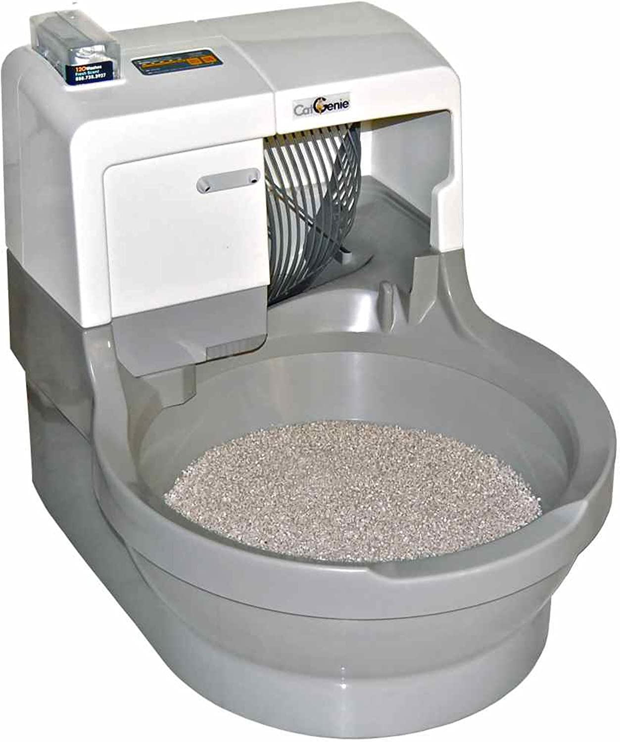 Best Self Cleaning Litter Box 2020.Catgenie Self Washing Self Flushing Cat Box