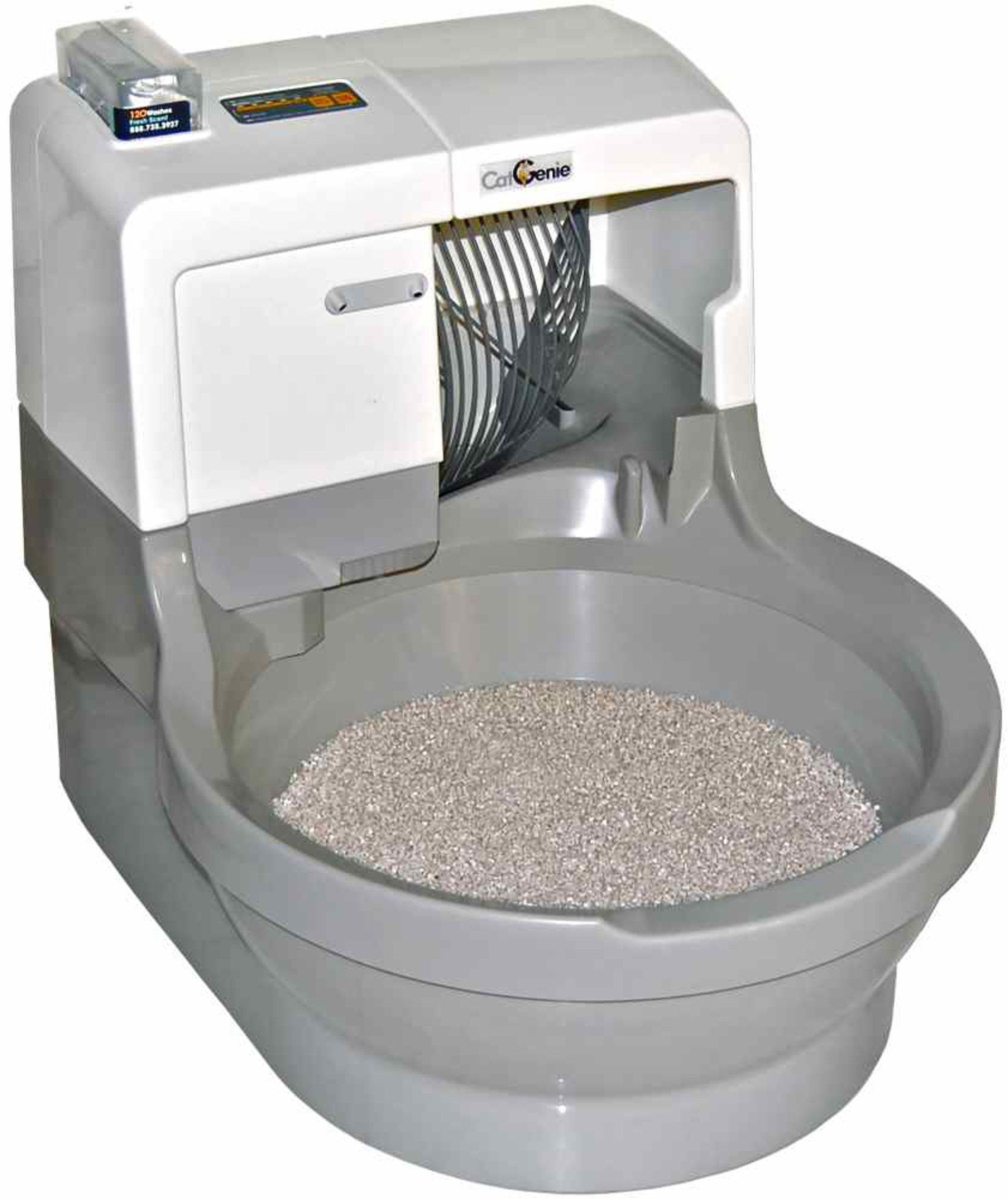 CatGenie Self Washing Self Flushing Cat Box by CatGenie