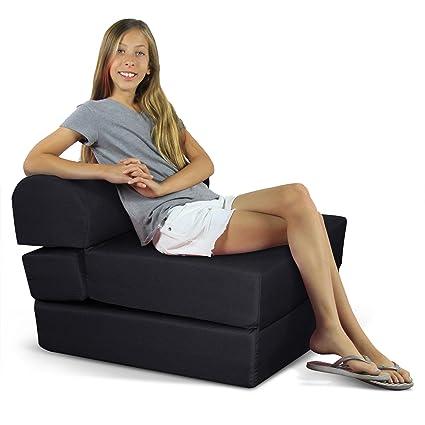 Bon Childrenu0027s Studio Chair Sleeper Jr. Twin 24u0026quot;, ...