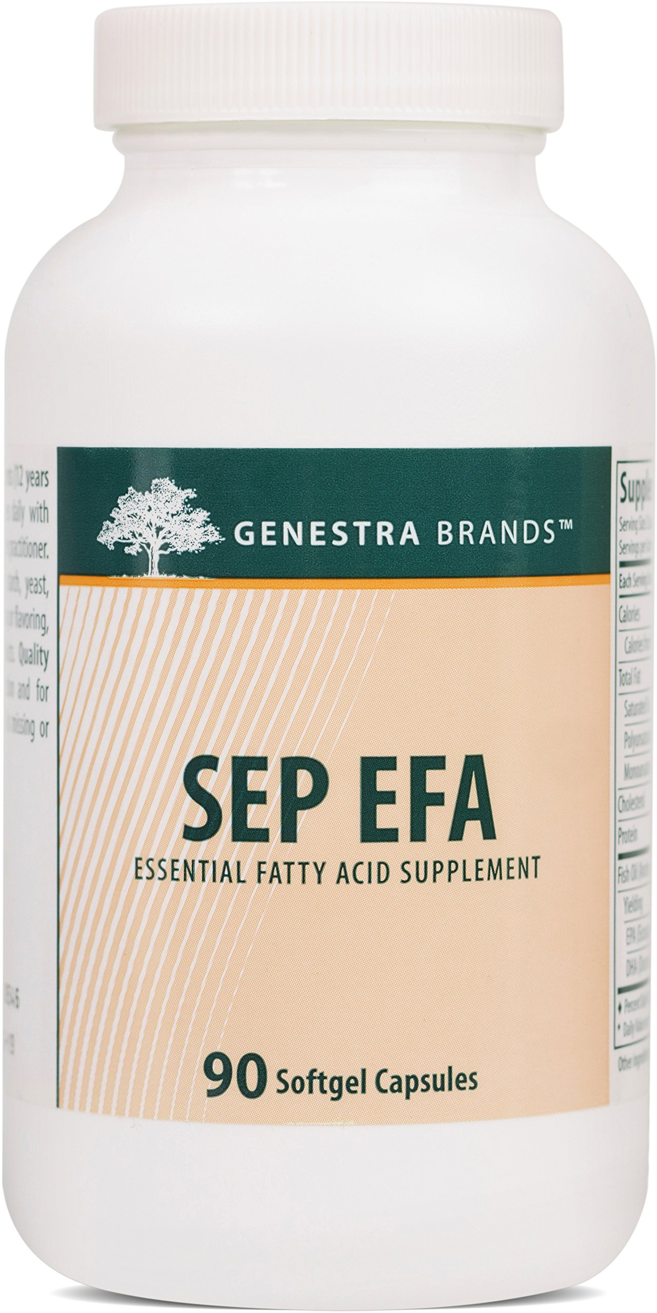 Genestra Brands - SEP EFA - Omega Fatty Acids to Support Optimal Cardiovascular, Neuronal and Cognitive Health* - 90 Softgel Capsules