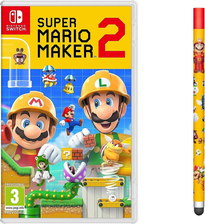 Super Mario Maker 2 + Lápiz táctil: Amazon.es: Videojuegos