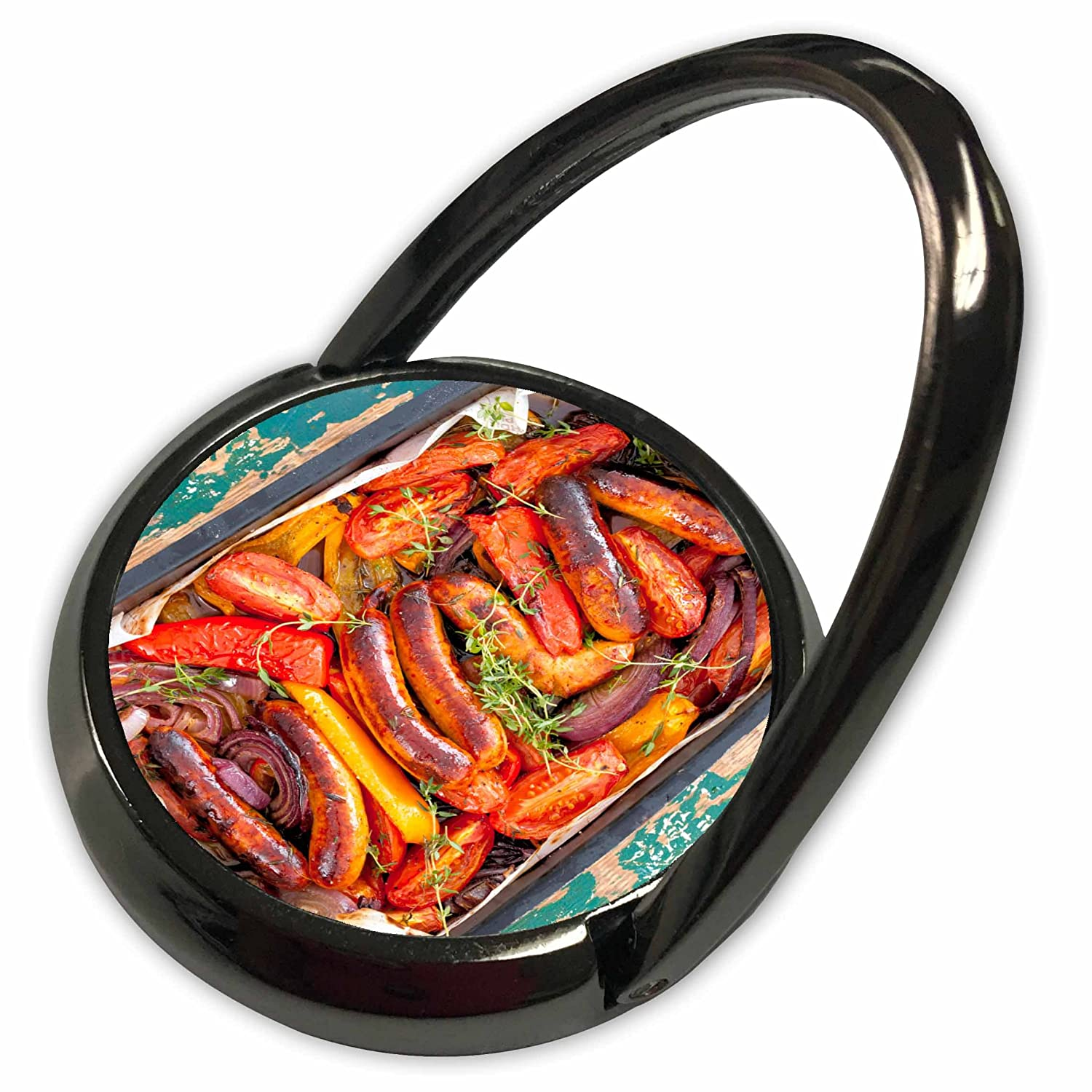 3dRose Danita Delimont - Food - Oven-roasted sausages, South Africa. - Phone Ring (phr_208611_1)