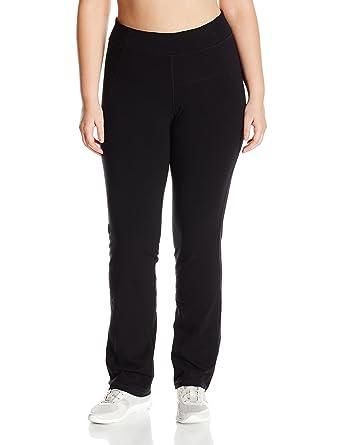 667375a5b81 Calvin Klein Performance Women s High Waist Narrow Straight Leg Pant Plus- Size at Amazon Women s Clothing store
