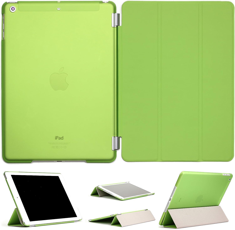 Smart Case Funci/ón Apagado//Encendido y Soporte Urcover/® Funda Apple iPad Air 9,7 Pulgadas Carcasa Tablet Sleeve Protectora Apple iPad Air Cover 9,7 Verde
