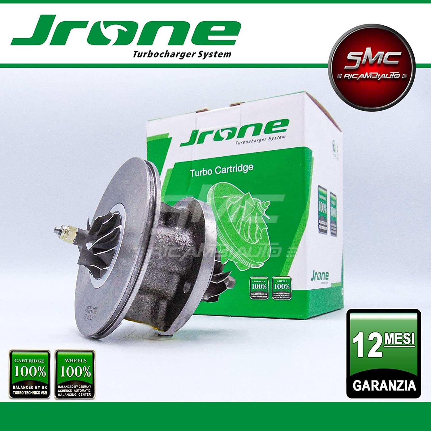 1000 - 030 - 012 coreassy turbina Garret turbocompressore Original JRONE: Amazon.es: Coche y moto
