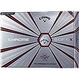 Callaway(キャロウェイ) ゴルフボール CHROME SOFT X 2018年モデル 1ダース(12個入り) 6424055122044