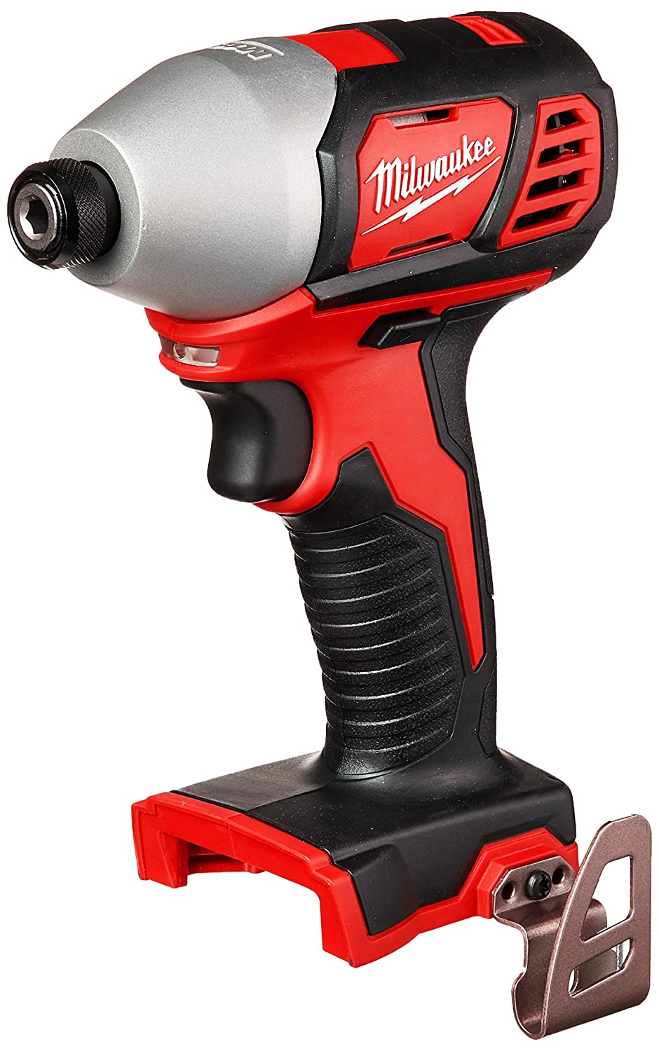 Milwaukee 2656-20 M18 18V 1 4 Inch Lithium Ion Hex Impact Driver with 1,500 Inch Pounds of Torque and LED Lighting Array Battery Not Included, Power Tool Only