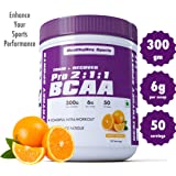 Healthyhey Sports Bcaa Powder 2:1:1, Branched Chain Amino Acids, Bcaas, Tangy Orange - 50 Servings