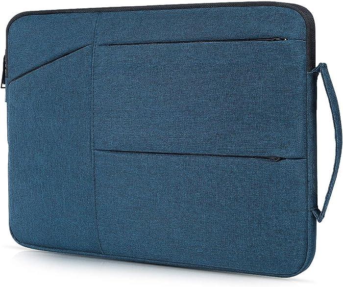 15.6 Inch Laptop Briefcase Bag fit Acer Predator 300 / Acer Aspire E 15 / Nitro 5, Dell Inspiron, Lenovo Ideapad, HP Pavilion, ASUS VivoBook F510UA, 15.6