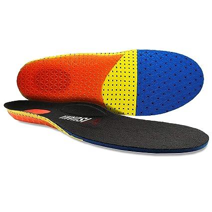 sports shoes 15a2d fc894 Solette Plantari Sport Per Scarpe Con Cuscinetti in Gel Unisex Uomo Donna  Junior Con Supporto Ad Arco Sport Tempo Libero Lavoro Antishock Traspiranti  ...