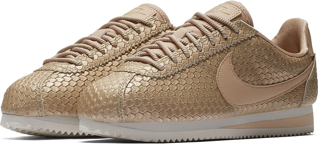 Zapatillas NIKE Classic Cortez SE BEIG Mujer: Amazon.es ...
