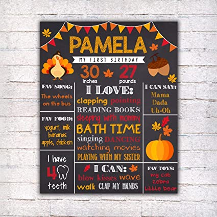 image regarding Closed for Thanksgiving Sign Printable called : Dozili Custom-made Turkey To start with Birthday