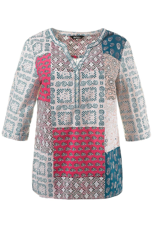 6287fed761500 outlet Ulla Popken Damen Große Größen bis 54/56 | Blusen-Shirt | Patch