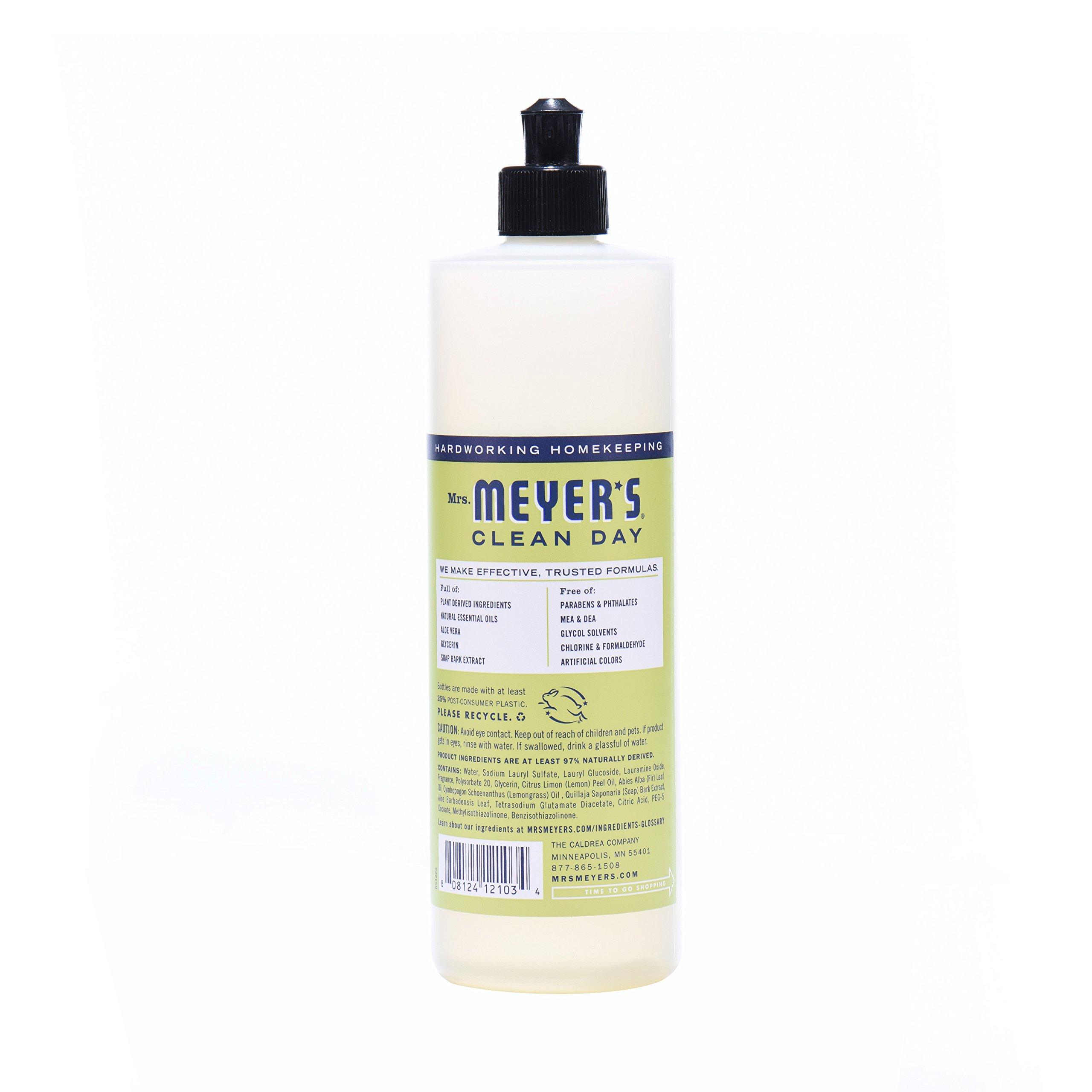 Mrs. Meyer's Clean Day Kitchen Basics Set, Lemon Verbena, 3 ct: Dish Soap (16 fl oz), Hand Soap (12.5 fl oz), Multi-Surface Everyday Cleaner (16 fl oz) by Mrs. Meyer's Clean Day (Image #5)