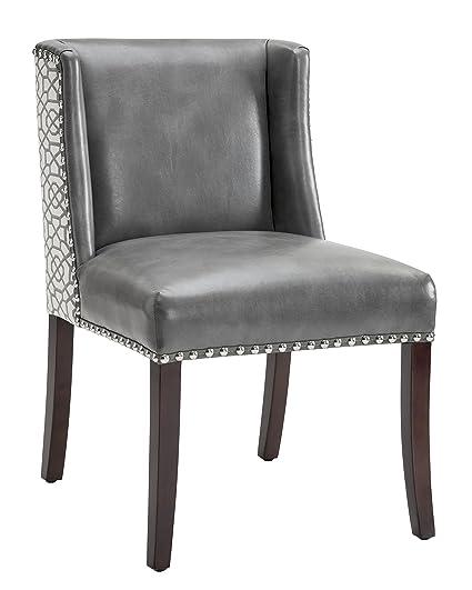 Pleasing Amazon Com Sunpan 101088 Club Collection Dining Chairs Machost Co Dining Chair Design Ideas Machostcouk