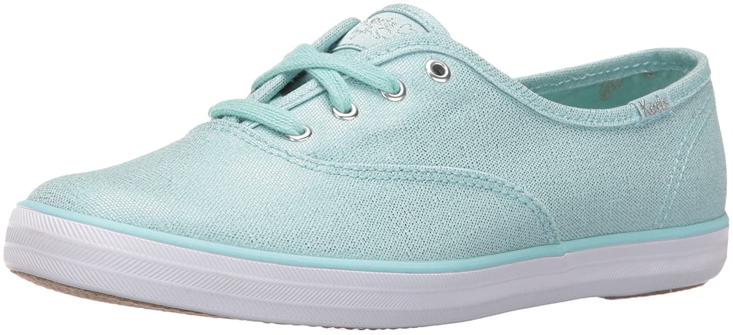 Light bluee Keds Womens Taylor Swift Metallic Canvas Fashion Sneaker
